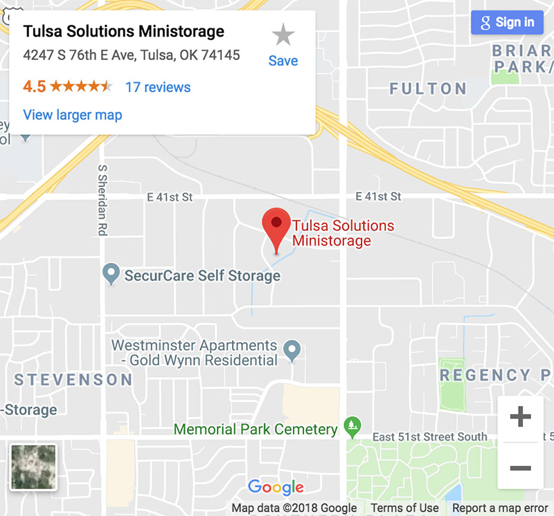 Tulsa Solutions Ministorage